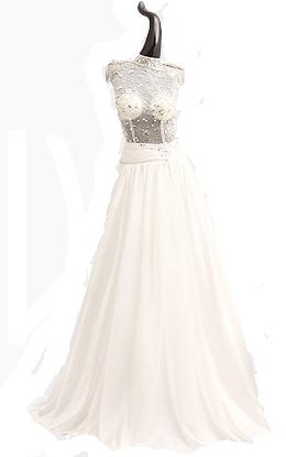 Глажение свадебных и вечерних платьев
